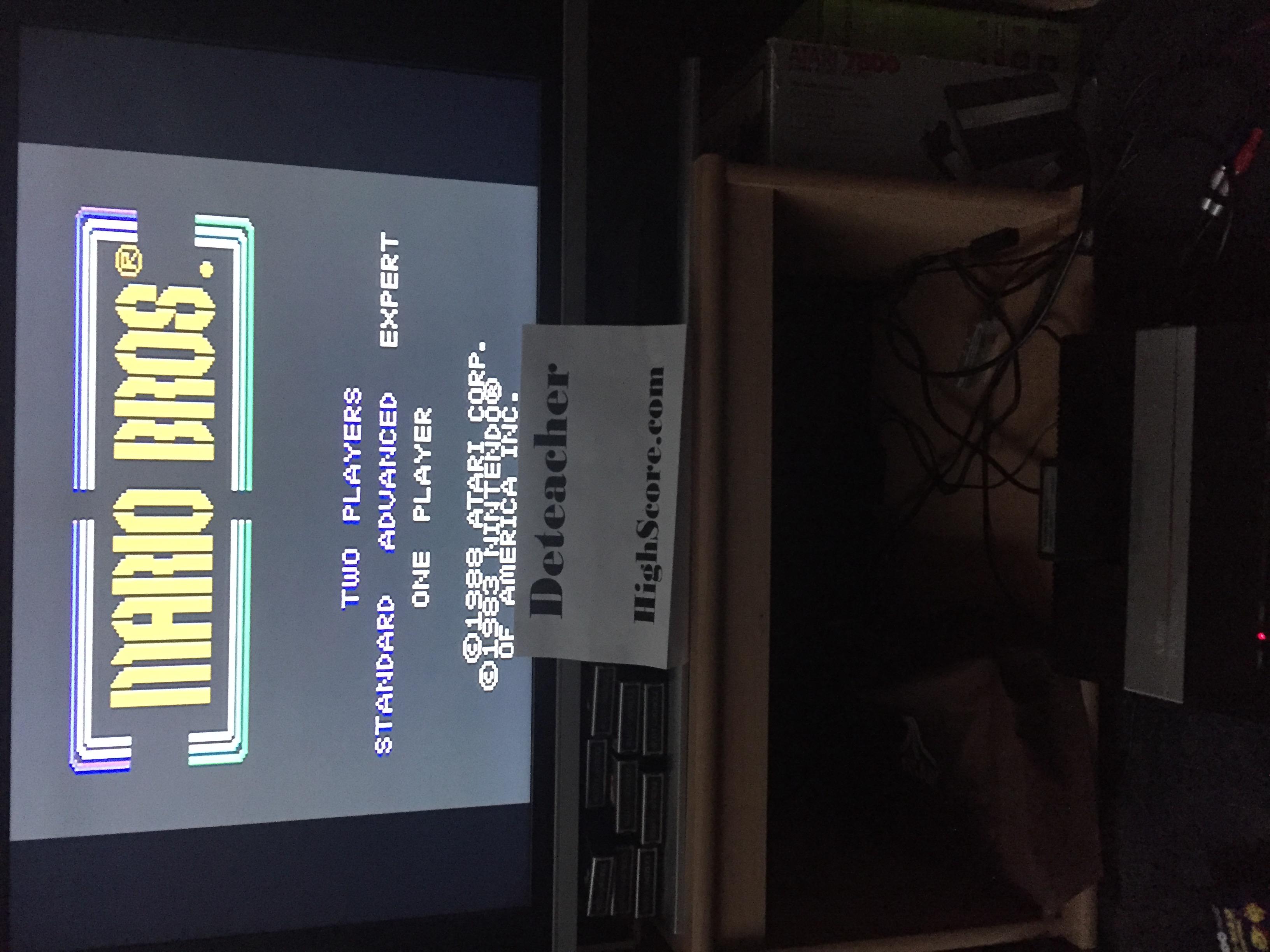 Deteacher: Mario Bros. [Expert] (Atari 7800) 49,930 points on 2016-02-15 15:49:04