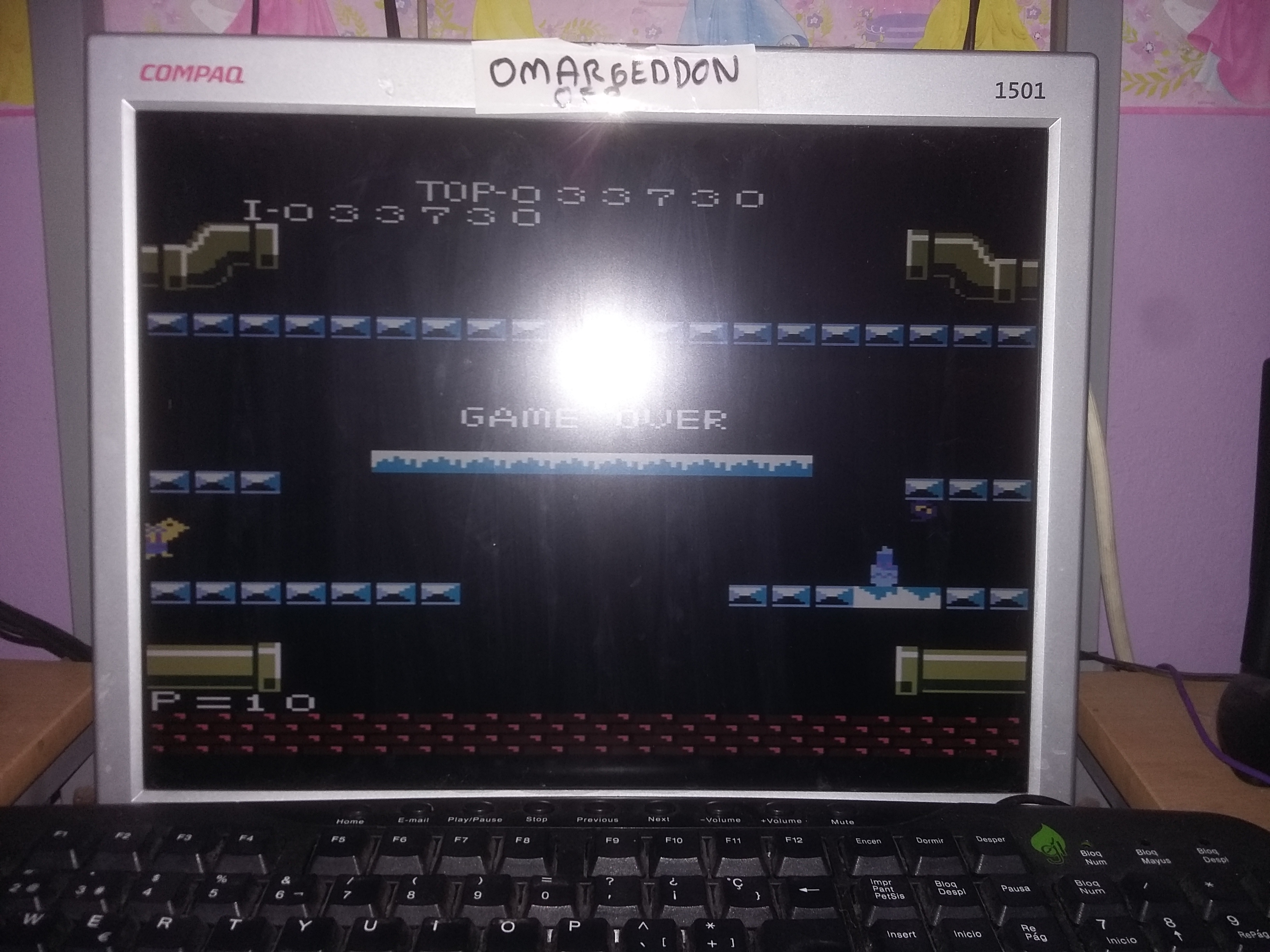 omargeddon: Mario Bros. [Expert] (Atari 7800 Emulated) 33,730 points on 2017-01-09 09:44:31
