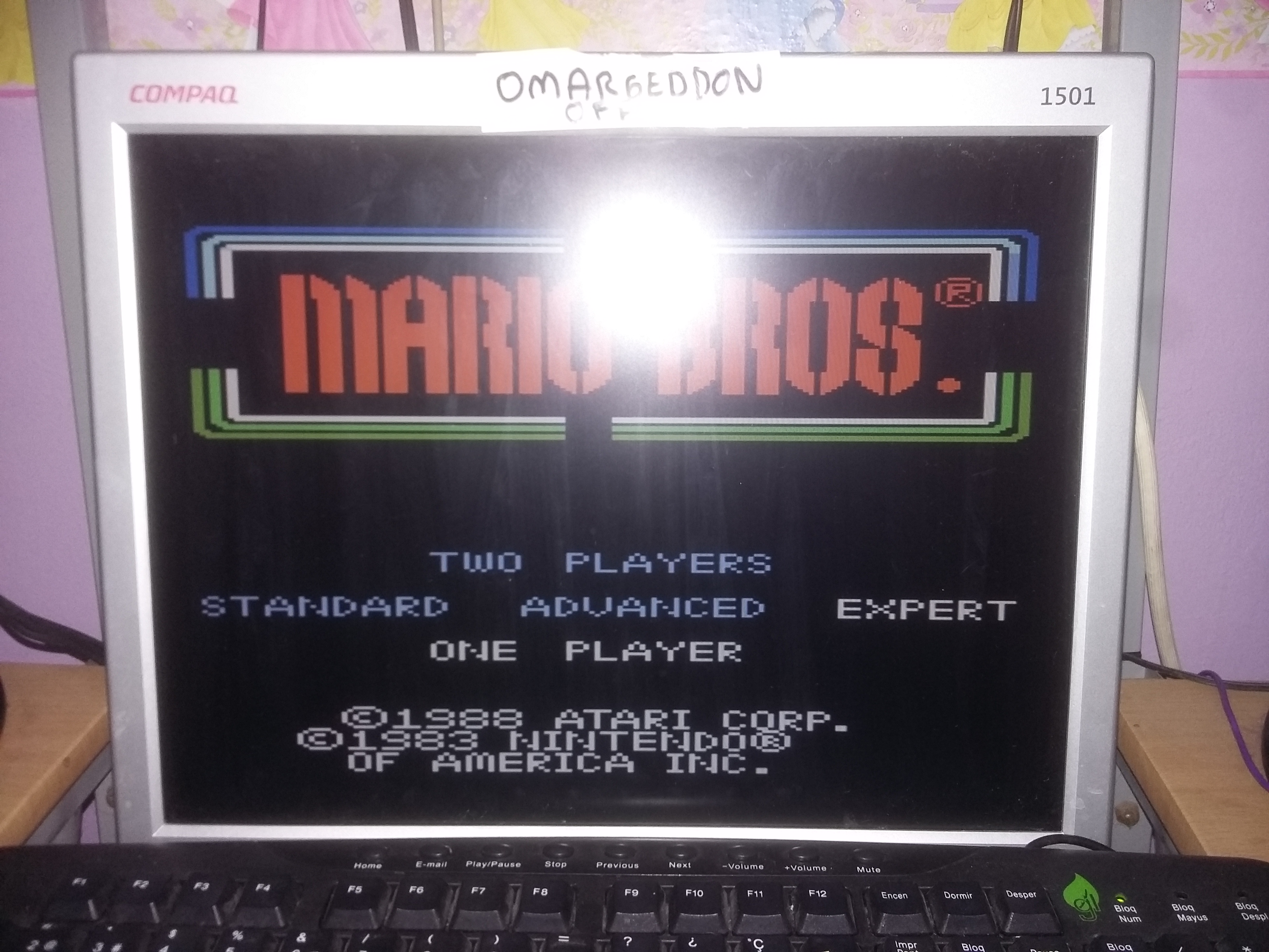 Mario Bros. [Expert] 33,730 points