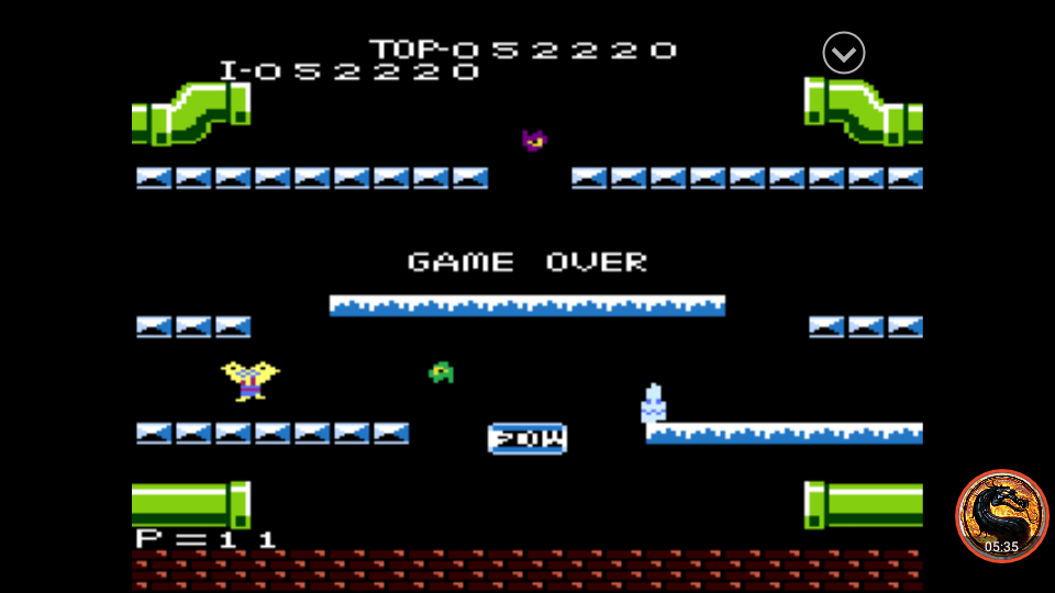 omargeddon: Mario Bros. [Expert] (Atari 7800 Emulated) 52,220 points on 2019-11-01 14:32:49
