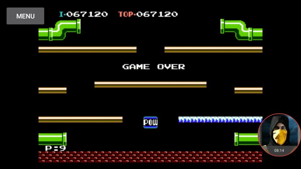 omargeddon: Mario Bros.: Game B (NES/Famicom Emulated) 67,120 points on 2018-01-20 18:40:45