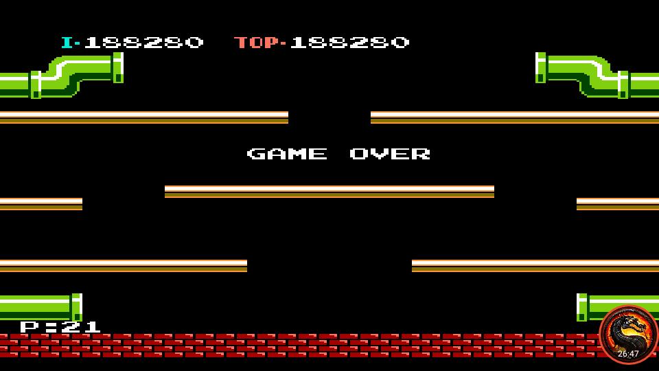 omargeddon: Mario Bros. (NES/Famicom Emulated) 188,280 points on 2021-04-01 02:00:36