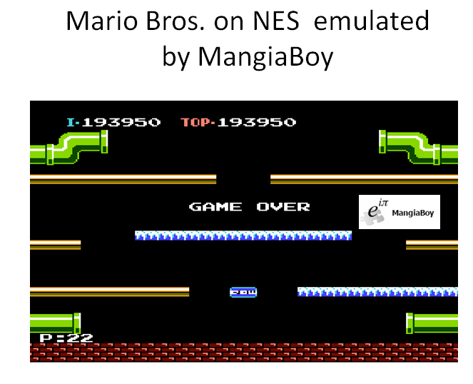 MangiaBoy: Mario Bros. (NES/Famicom Emulated) 193,950 points on 2016-04-07 15:29:00