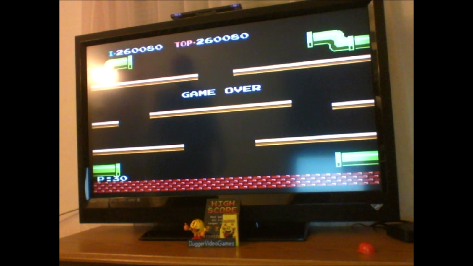 DuggerVideoGames: Mario Bros. (NES/Famicom Emulated) 260,080 points on 2016-11-16 04:25:26