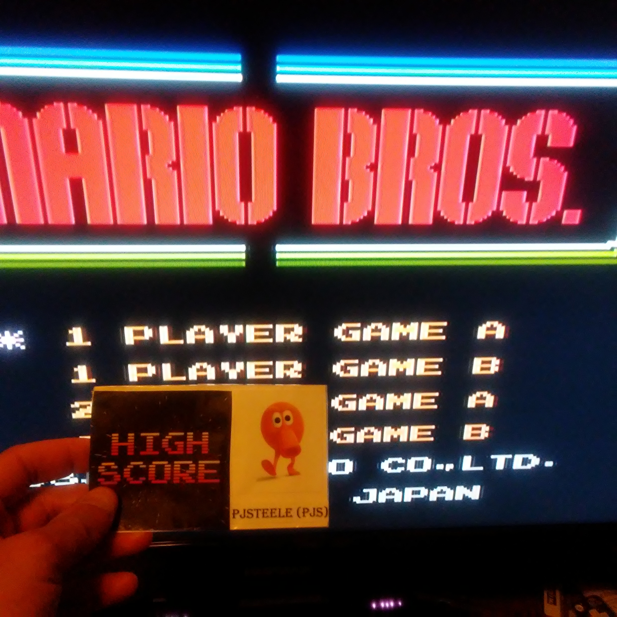 Mario Bros. 209,220 points