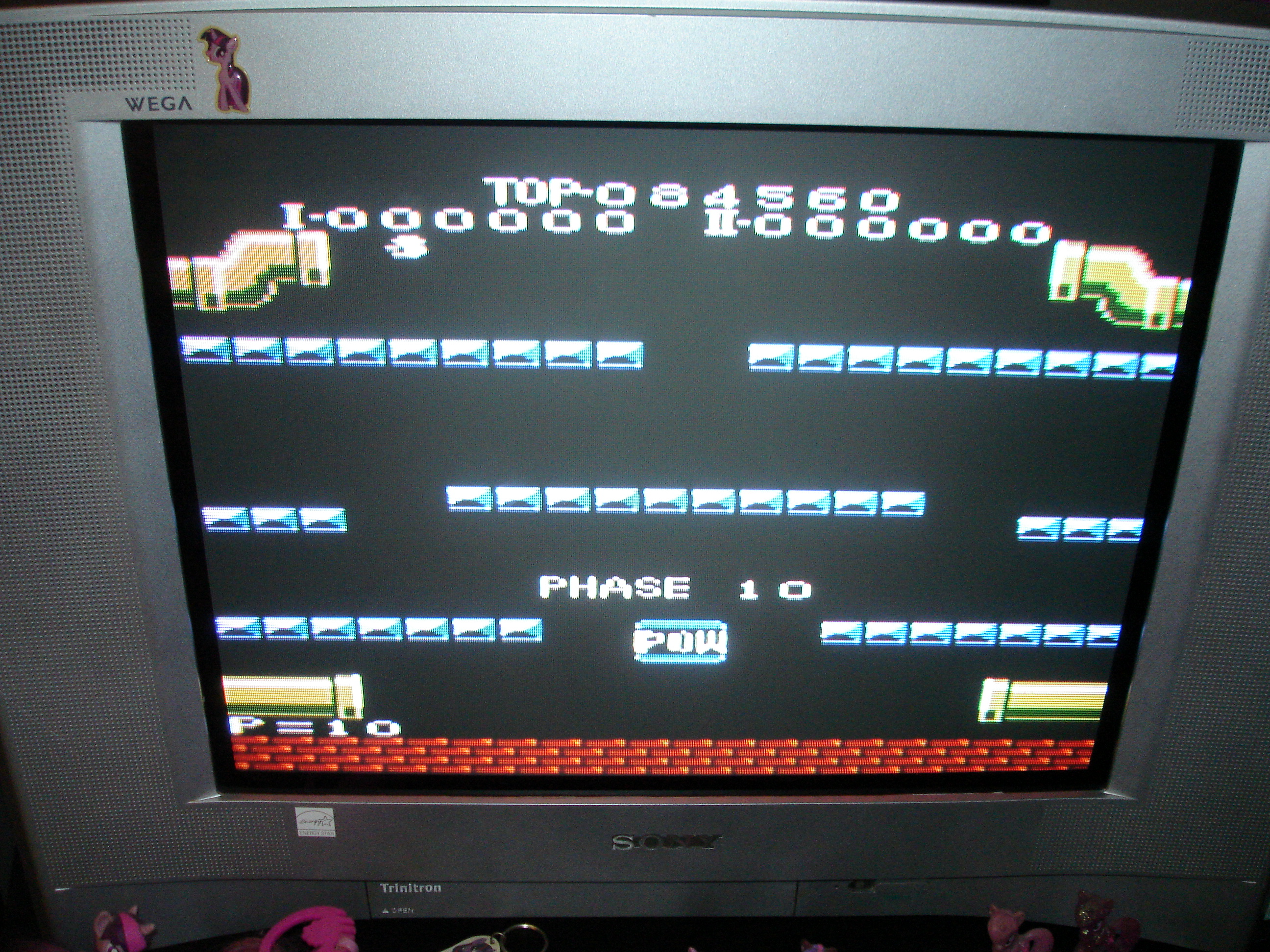 Mario Bros. [Standard] 84,560 points
