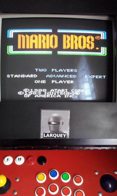 Larquey: Mario Bros. [Standard] (Atari 7800 Emulated) 45,680 points on 2017-09-30 05:20:45
