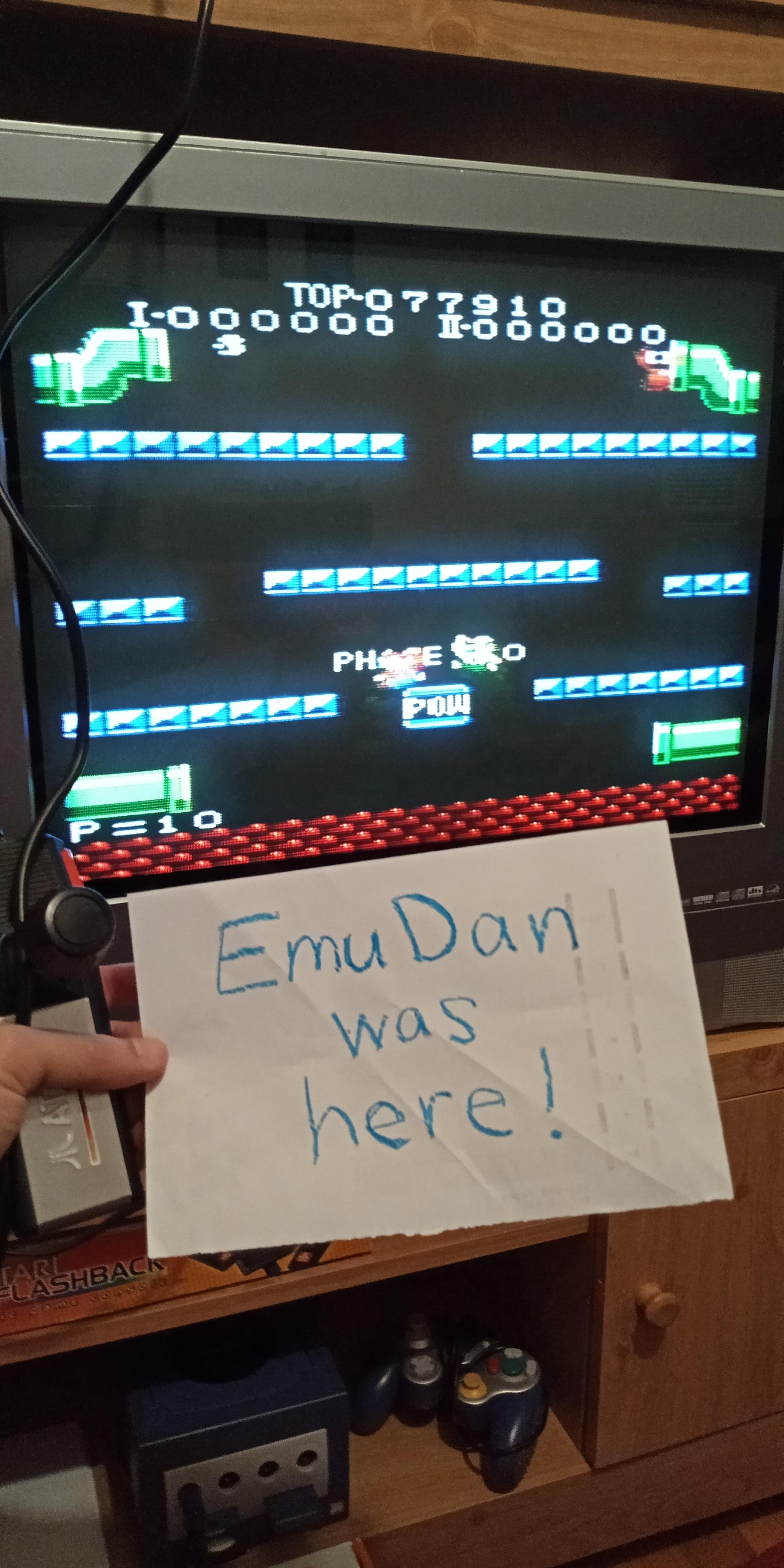 EmuDan: Mario Bros. [Standard] (Atari 7800) 77,910 points on 2019-05-19 14:19:57