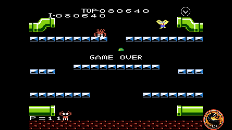 omargeddon: Mario Bros. [Standard] (Atari 7800 Emulated) 80,640 points on 2019-11-01 14:09:58