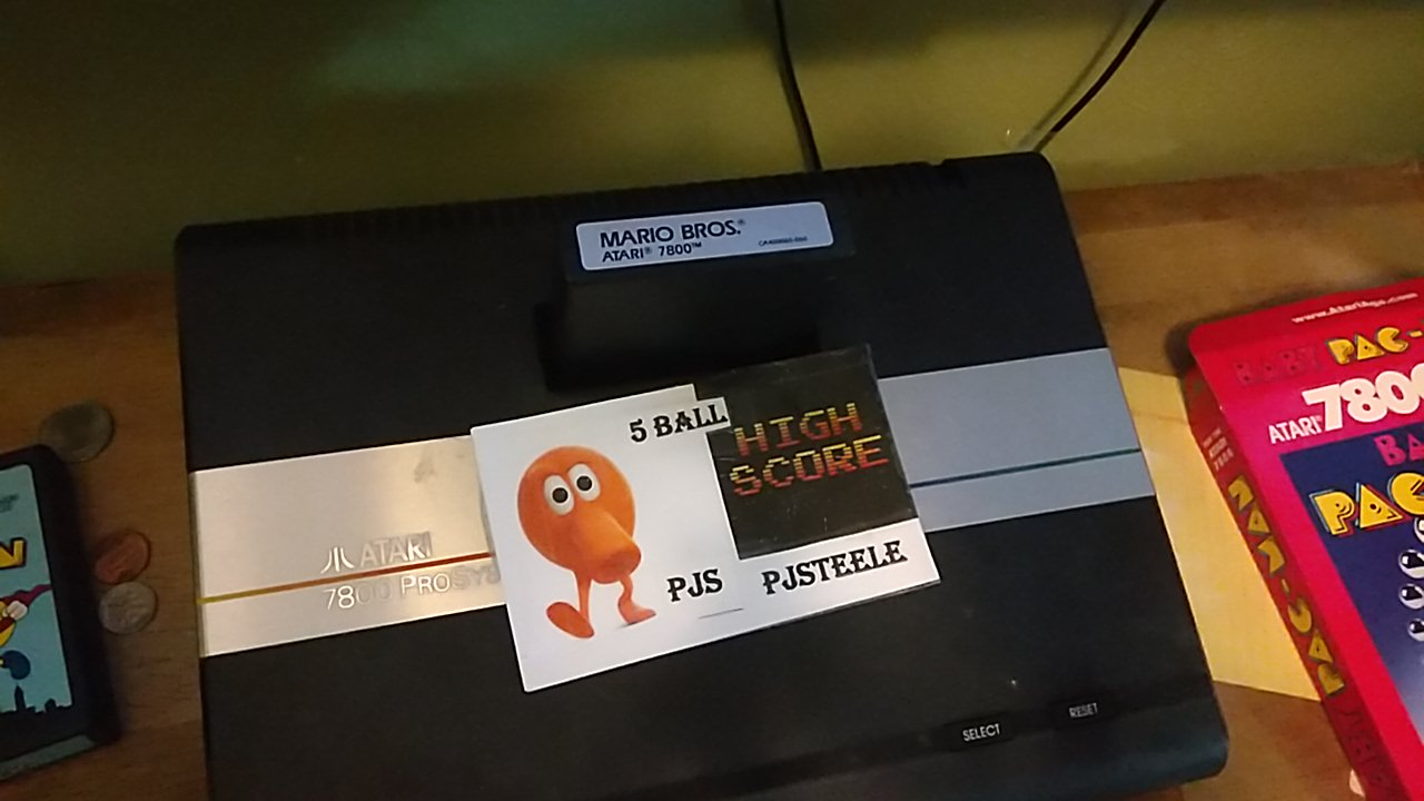 Mario Bros. [Standard] 347,520 points