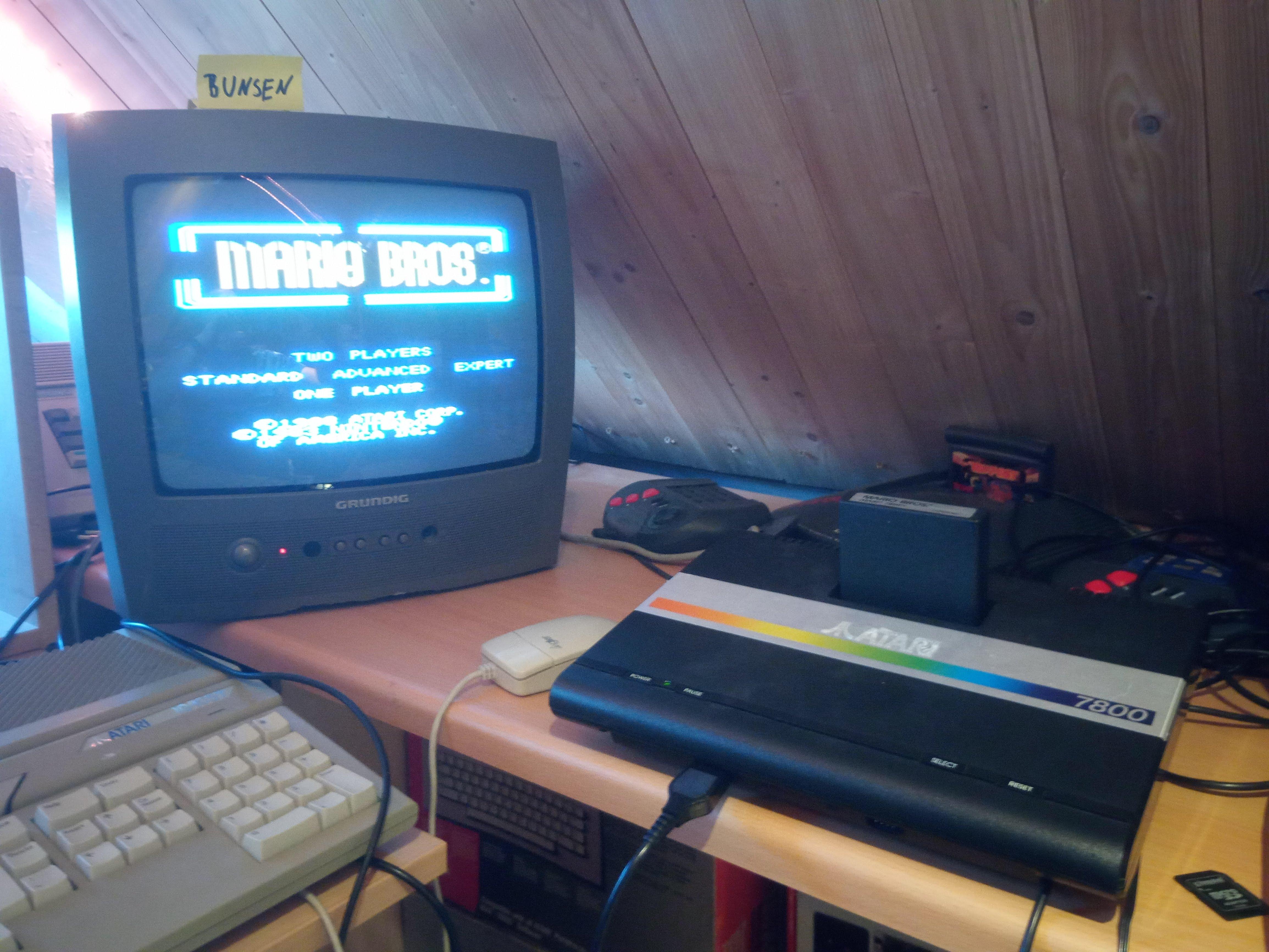 Bunsen: Mario Bros. [Standard] (Atari 7800) 29,990 points on 2020-05-01 13:18:38