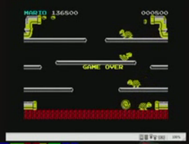 mechafatnick: Mario Bros (ZX Spectrum Emulated) 136,500 points on 2015-09-17 00:54:49