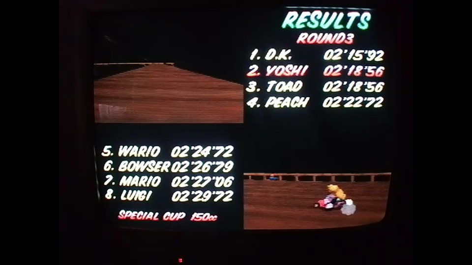 omargeddon: Mario Kart 64: Banshee Boardwalk [150cc] (N64) 0:02:18.56 points on 2020-04-26 16:47:37