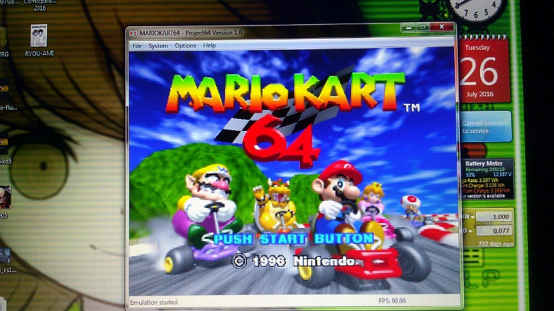 ichigokurosaki1991: Mario Kart 64: Banshee Boardwalk [50cc] (N64 Emulated) 0:02:32.62 points on 2016-07-27 01:11:35