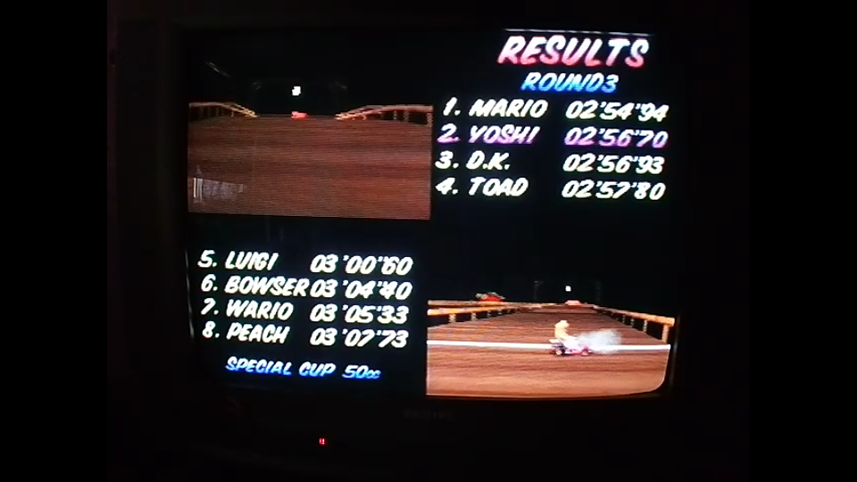 omargeddon: Mario Kart 64: Banshee Boardwalk [50cc] (N64) 0:02:56.7 points on 2020-04-22 16:04:38