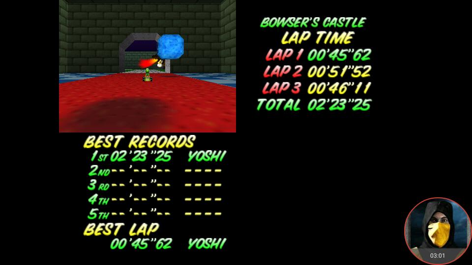 omargeddon: Mario Kart 64: Bowser