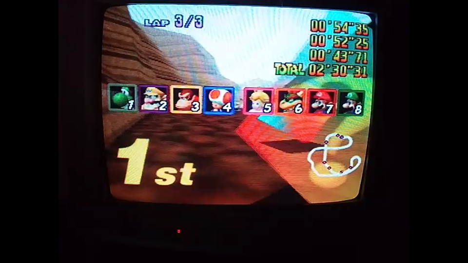 omargeddon: Mario Kart 64: Choco Mountain [Lap Time] [50cc] (N64) 0:00:43.71 points on 2020-04-12 15:45:58
