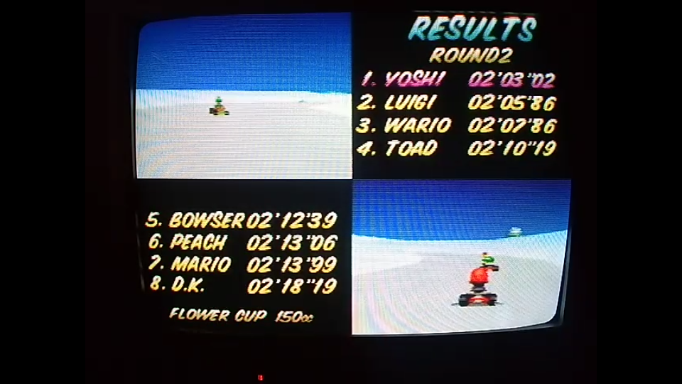 omargeddon: Mario Kart 64: Frappe Snowland [150cc] (N64) 0:02:03.02 points on 2020-04-26 16:27:05