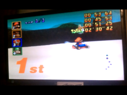 S.BAZ: Mario Kart 64: Koopa Troopa Beach [50cc] (N64) 0:02:30.42 points on 2016-05-25 19:45:44