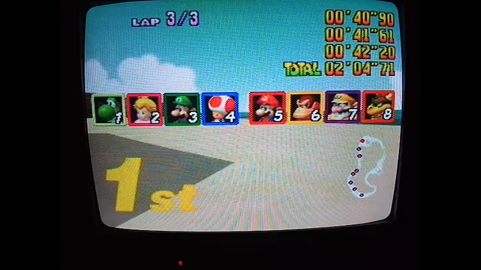 omargeddon: Mario Kart 64: Koopa Troopa Beach [Lap Time] [Extra] (N64) 0:00:40.9 points on 2020-05-18 12:38:37