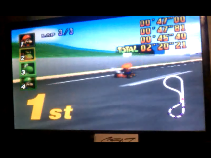S.BAZ: Mario Kart 64: Luigi Raceway [50cc] (N64) 0:02:20.21 points on 2016-05-25 19:56:05