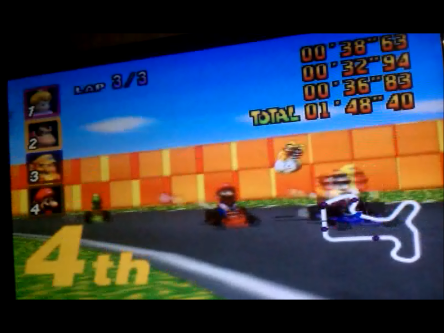 S.BAZ: Mario Kart 64: Mario Raceway [100cc] (N64) 0:01:48.4 points on 2016-04-22 23:42:03