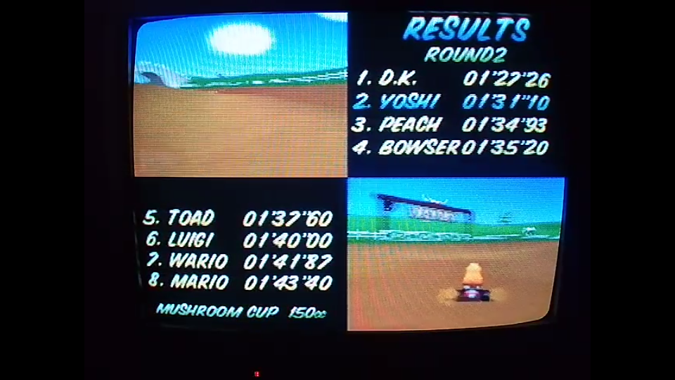 omargeddon: Mario Kart 64: Moo Moo Farm [150cc] (N64) 0:01:31.1 points on 2020-04-26 20:10:50