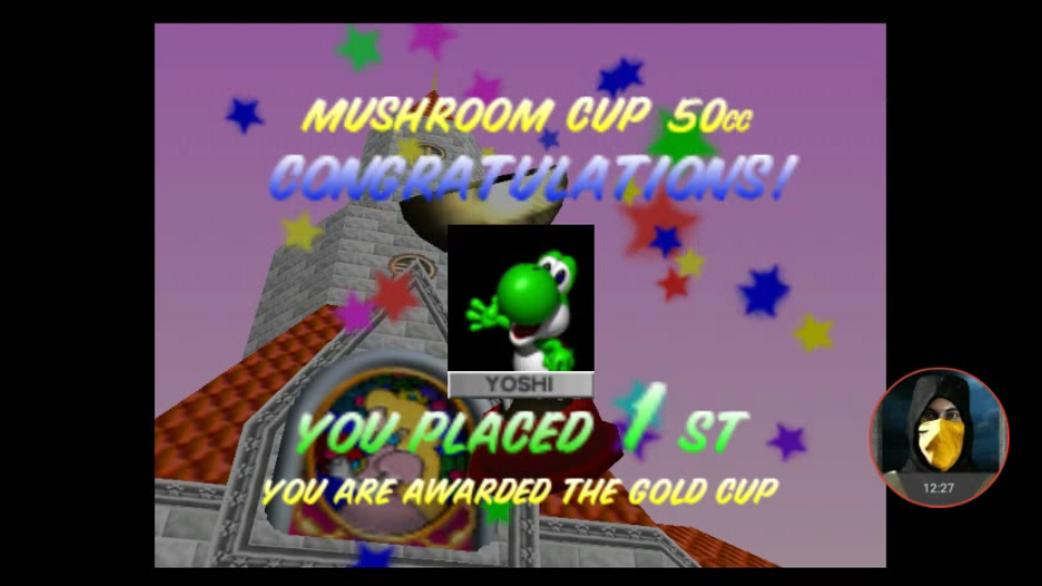 omargeddon: Mario Kart 64: Mushroom Cup [Points] [50cc] (N64 Emulated) 36 points on 2018-02-25 16:26:10