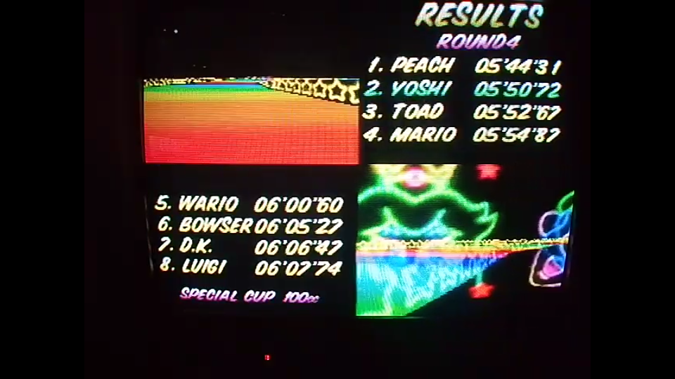 omargeddon: Mario Kart 64: Rainbow Road [100cc] (N64) 0:05:50.72 points on 2020-04-26 16:05:16