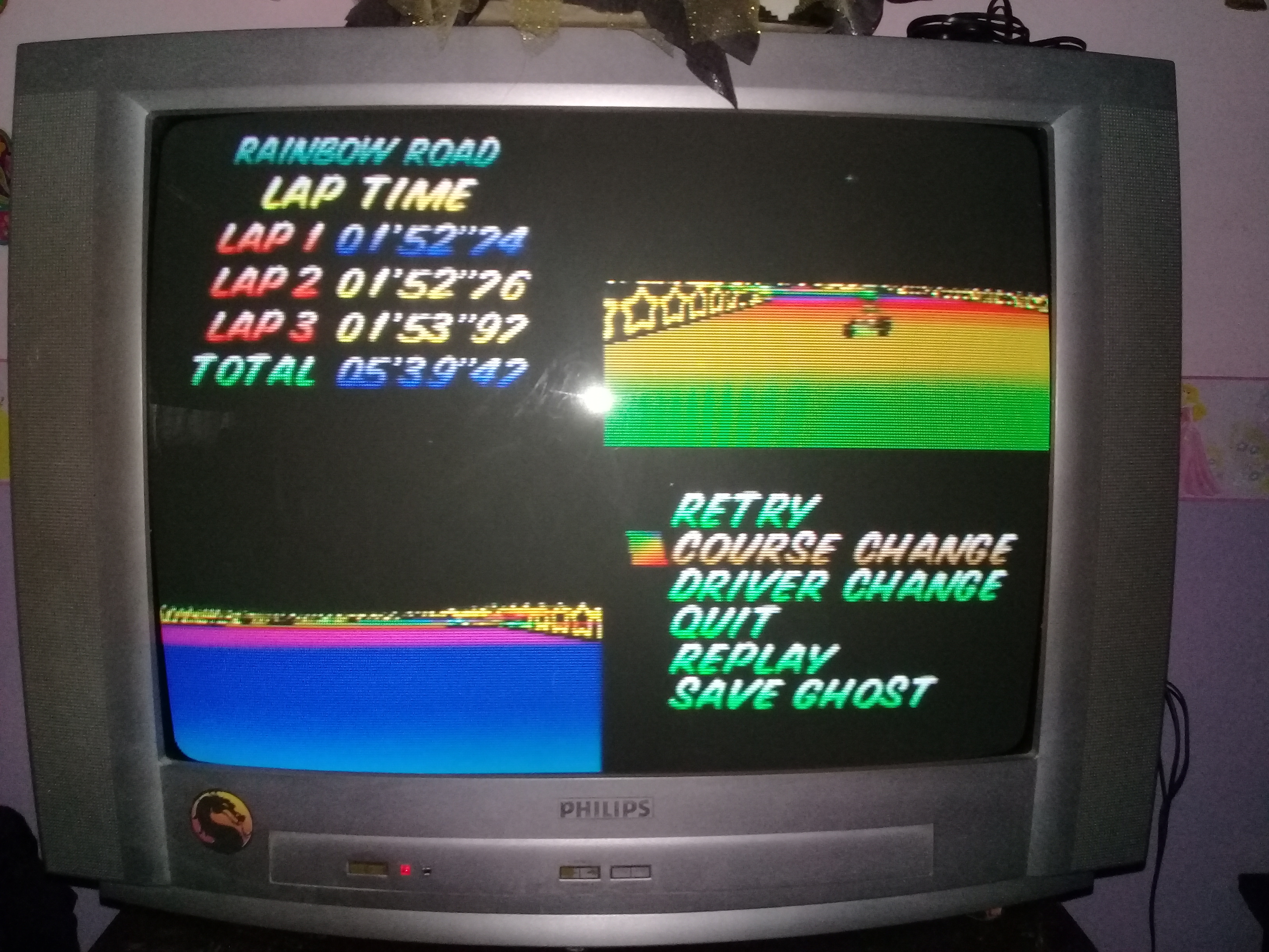 omargeddon: Mario Kart 64: Rainbow Road [Time Trial] [Lap Time] (N64) 0:01:52.74 points on 2020-04-22 15:11:36
