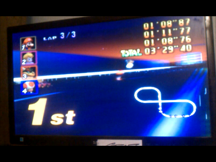 Mario Kart 64 Toad S Turnpike 50cc N64 High Score By S Baz