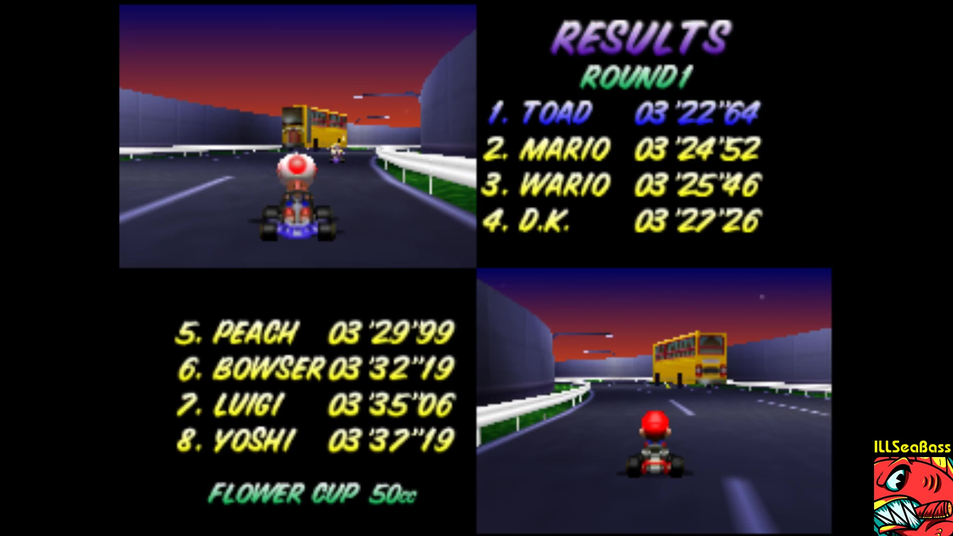 Mario Kart 64 Toad S Turnpike 50cc N64 Emulated High Score By Illseabass