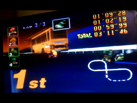 Mario Kart 64 Toad S Turnpike Lap Time 100cc N64 High Score By S Baz