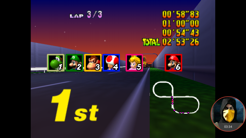 omargeddon: Mario Kart 64: Toad