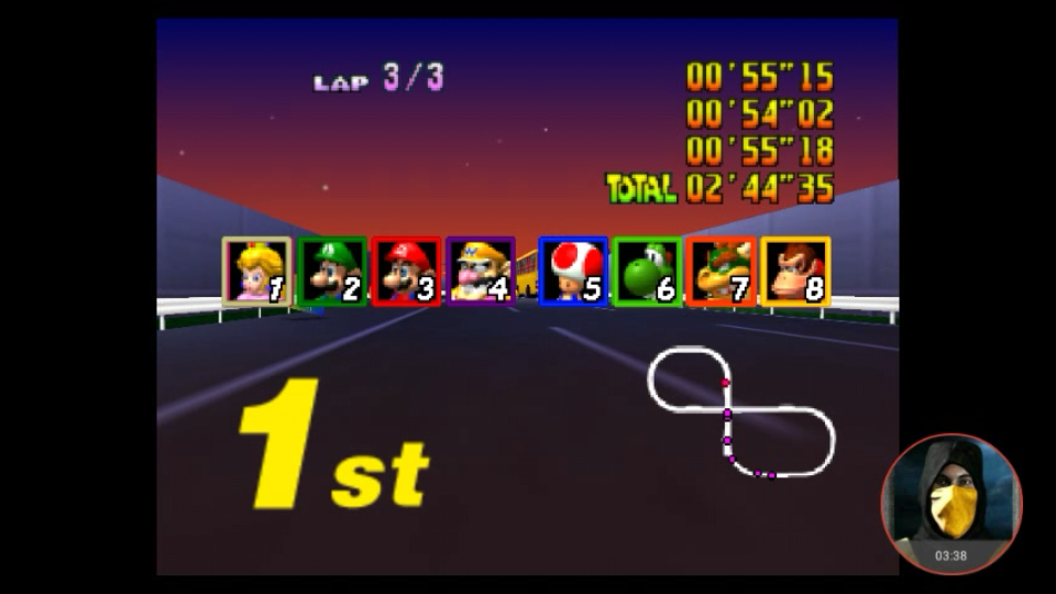 Mario Kart 64 Toad S Turnpike Lap Time 150cc N64 Emulated High Score By Omargeddon