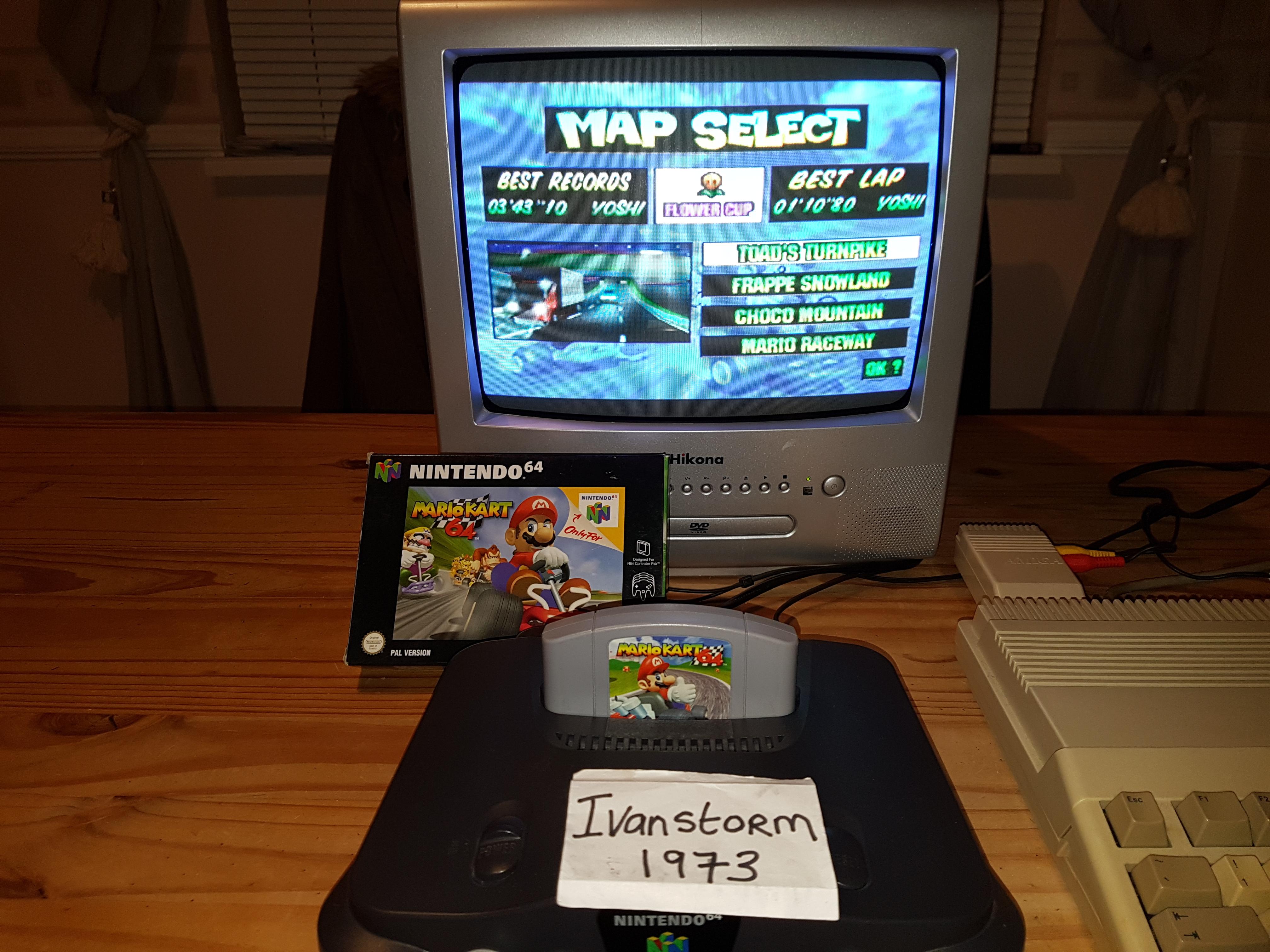 Ivanstorm1973: Mario Kart 64: Toad