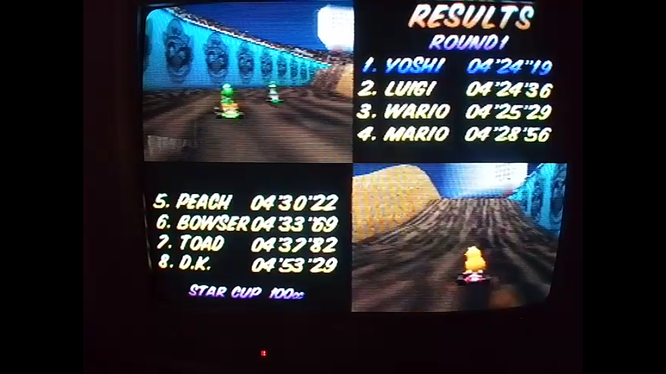 omargeddon: Mario Kart 64: Wario Stadium [100cc] (N64) 0:04:24.19 points on 2020-04-26 15:41:29
