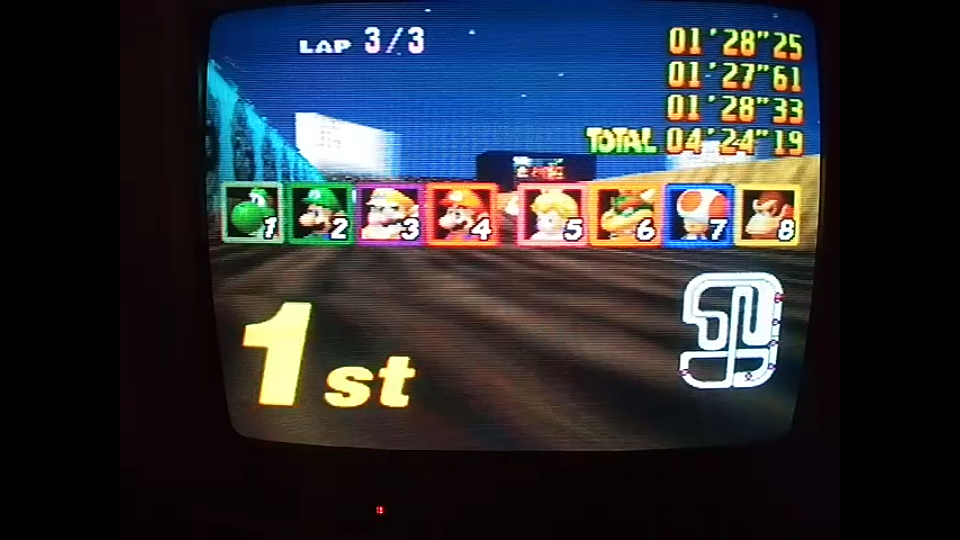 omargeddon: Mario Kart 64: Wario Stadium [Lap Time] [100cc] (N64) 0:01:27.61 points on 2020-04-26 15:42:23