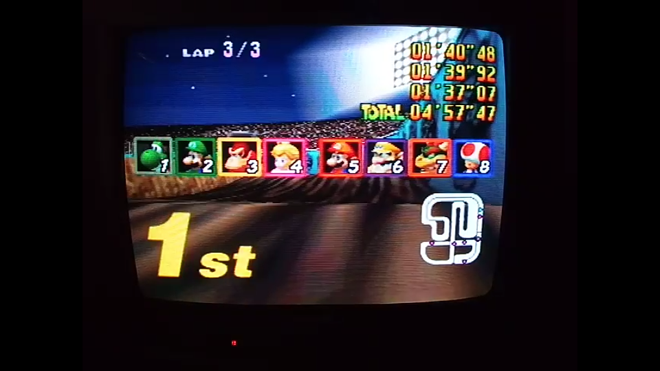 omargeddon: Mario Kart 64: Wario Stadium [Lap Time] [50cc] (N64) 0:01:37.07 points on 2020-04-22 15:35:09
