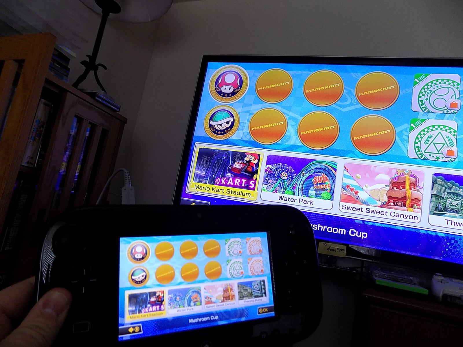 darrin9999: Mario Kart 8: Time Trials: Mario Stadium [Best Time] (Wii U) 0:02:25.17 points on 2020-04-06 21:20:18