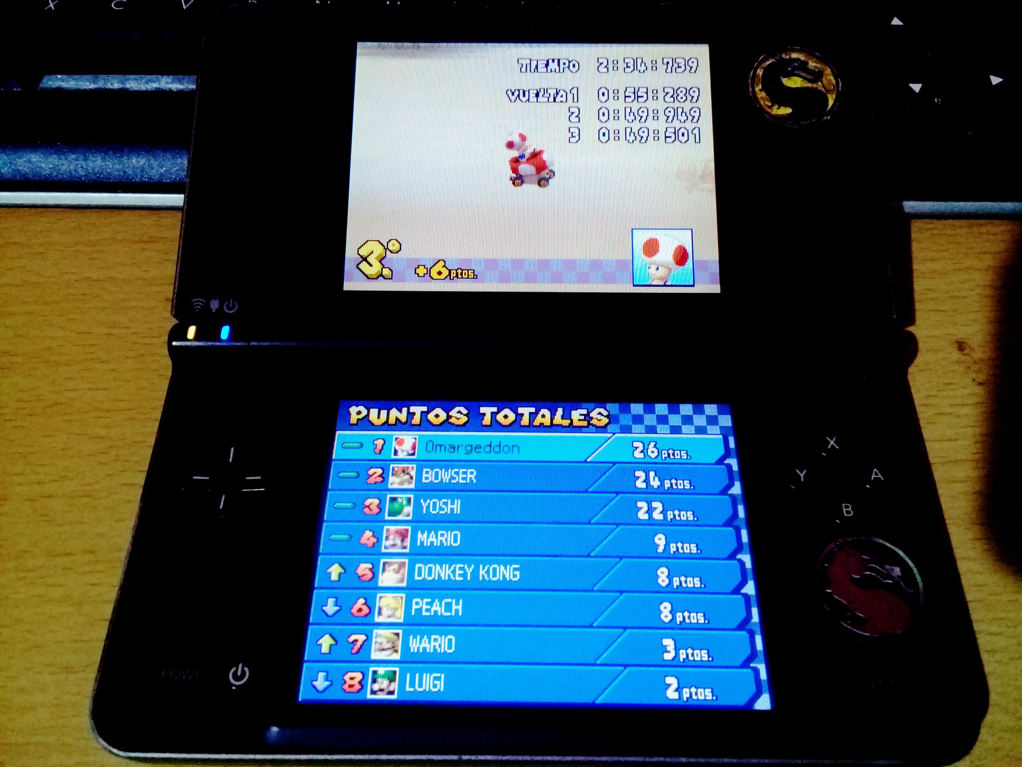 omargeddon: Mario Kart DS: Cheep Cheep Beach [100cc] [Lap Time] (Nintendo DS) 0:00:49.501 points on 2020-09-14 14:48:23