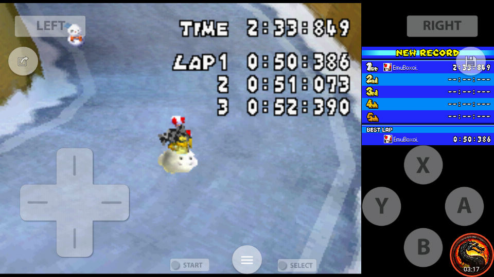 omargeddon: Mario Kart DS: DK Pass [Time Trial] [Lap Time] (Nintendo DS Emulated) 0:00:50.386 points on 2020-08-02 10:10:47