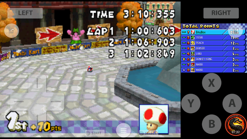 omargeddon: Mario Kart DS: Delfino Square [50cc] [Lap Time] (Nintendo DS Emulated) 0:01:00.603 points on 2020-07-30 19:15:24