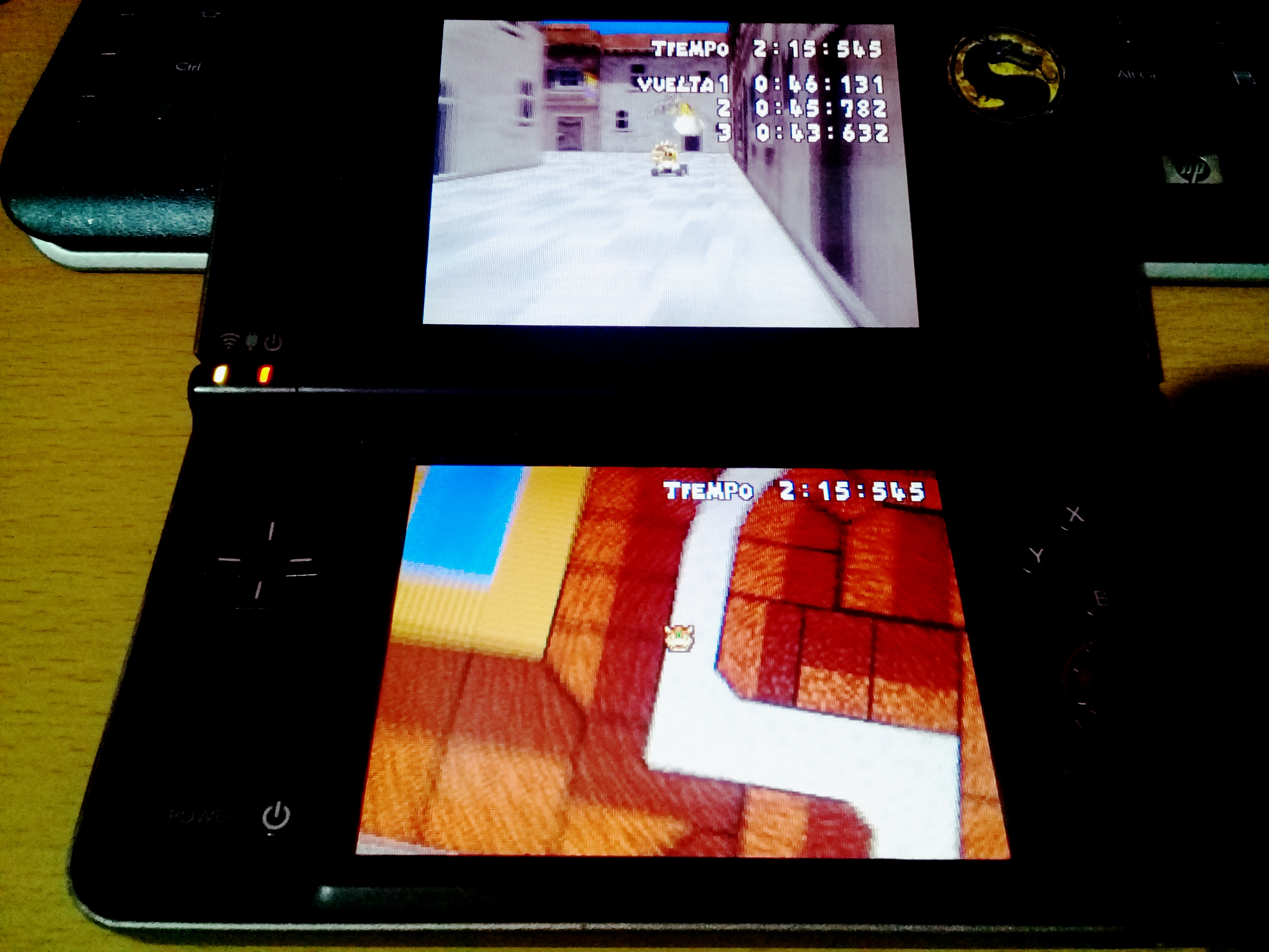 omargeddon: Mario Kart DS: Delfino Square [Time Trial] (Nintendo DS) 0:02:15.545 points on 2020-08-11 18:01:25