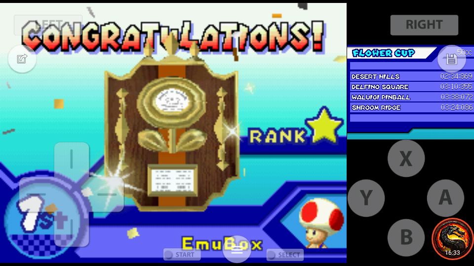 omargeddon: Mario Kart DS: Desert Hills [50cc] (Nintendo DS Emulated) 0:02:34.869 points on 2020-07-30 19:11:37