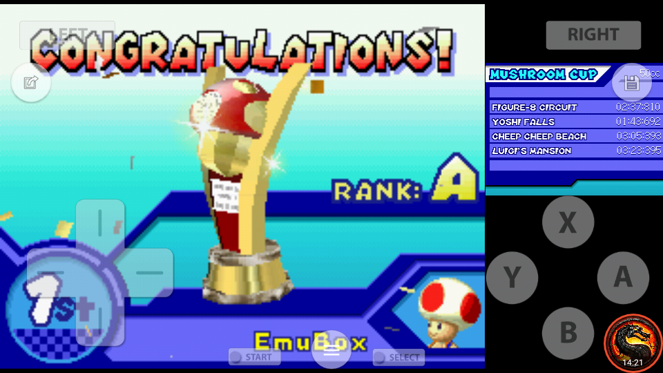 omargeddon: Mario Kart DS: Figure-8 Circuit [50cc] (Nintendo DS Emulated) 0:02:37.81 points on 2020-07-30 18:58:44