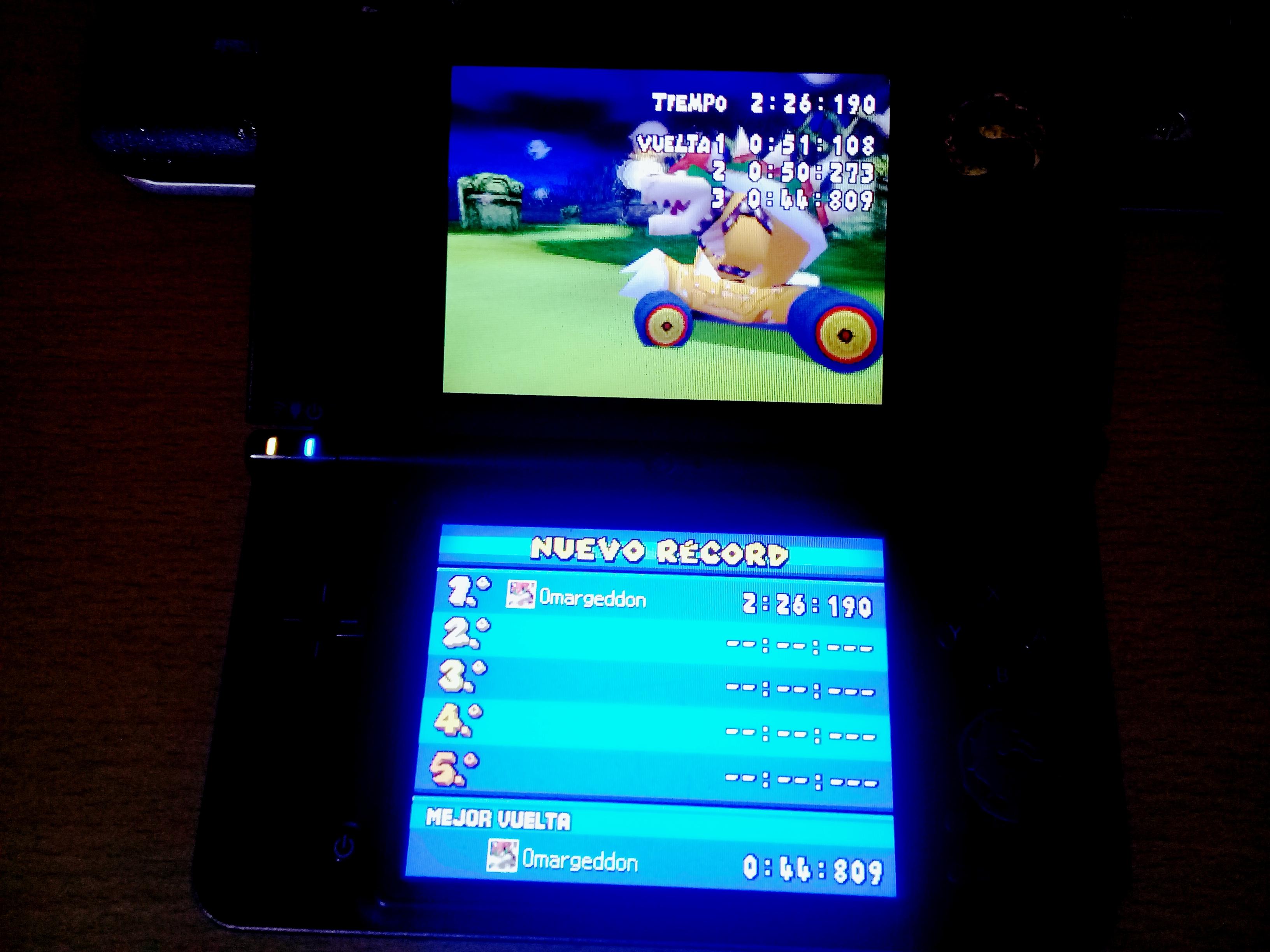 omargeddon: Mario Kart DS: Luigi