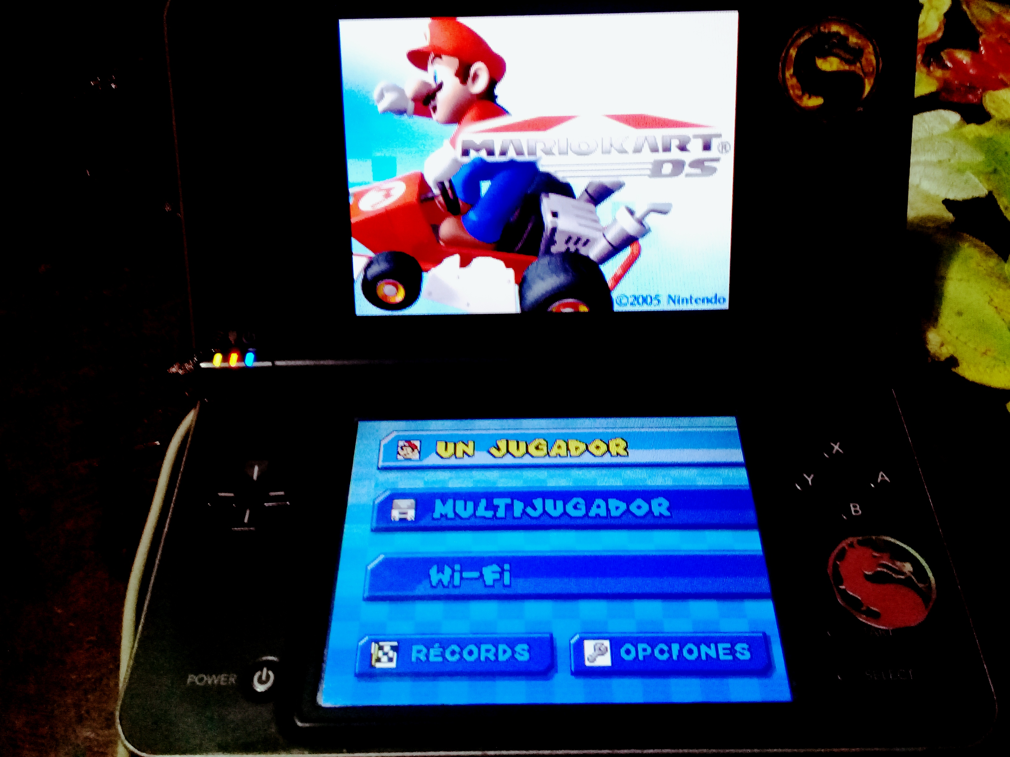 omargeddon: Mario Kart DS: Mario Circuit [100cc] (Nintendo DS) 0:02:44.214 points on 2020-09-14 15:57:57