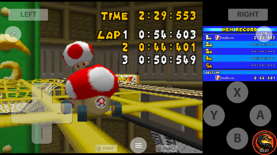 omargeddon: Mario Kart DS: Tick-Tock Clock [Time Trial] [Lap Time] (Nintendo DS Emulated) 0:00:44.401 points on 2020-08-02 11:42:08