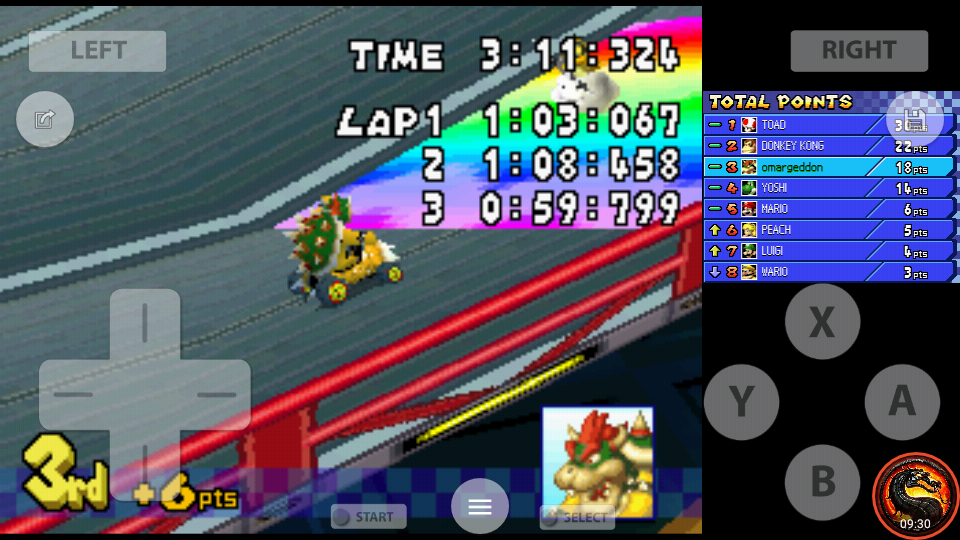 omargeddon: Mario Kart DS: Waluigi Pinball [100cc] [Lap Time] (Nintendo DS Emulated) 18 points on 2020-09-29 22:09:31